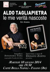 Presidio del Libro - Aldo Tagliapietra locandina